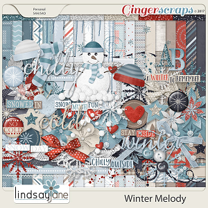 Winter Melody by Lindsay Jane