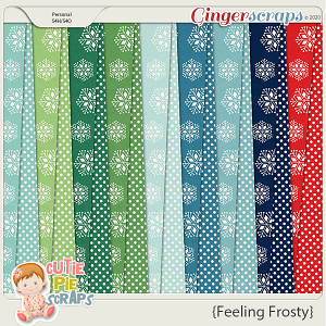 Feeling Frosty Pattern Papers