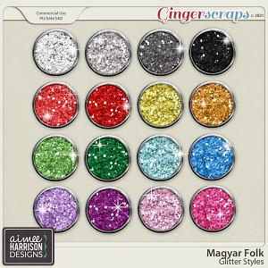 Magyar Folk Glitters by Aimee Harrison