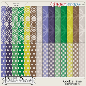 Cookie Time- Extra Papers