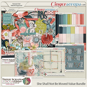 She Shall Not Be Moved Value Bundle by Trixie Scraps Designs