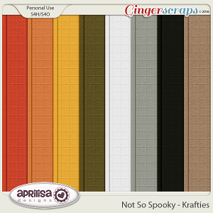 Not So Spooky - Krafties by Aprilisa Designs