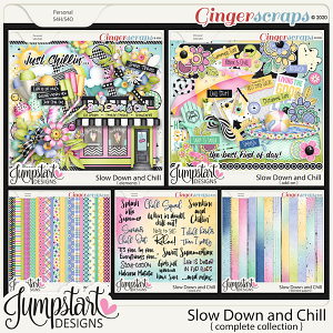 Slow Down and Chill {Complete Collection} by Jumpstart Designs