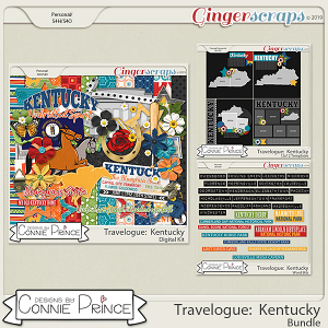Travelogue Kentucky - Bundle Pack by Connie Prince