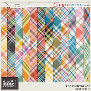 The Nutcracker Plaid Papers by Aimee Harrison