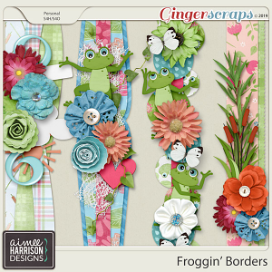 Froggin' Borders by Aimee Harrison