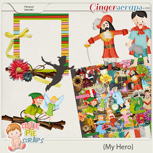 My Hero - Peter Pan - Cluster Frame