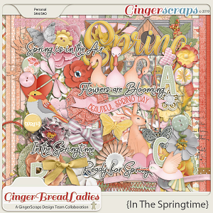 GingerBread Ladies Collab: In The Springtime