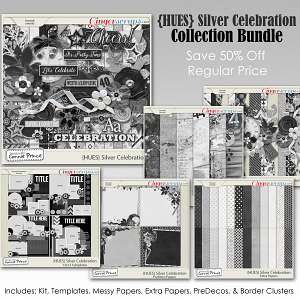 {HUES} Silver Celebration - Bundle
