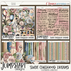Sweet Childhood Dreams {Complete Collection}