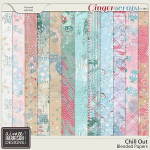 Chill Out Blended Papers by Aimee Harrison