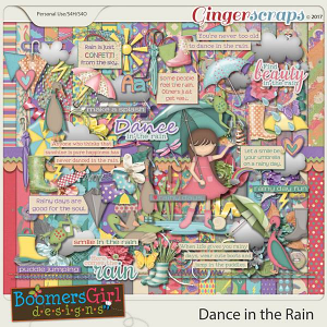 Dance in the Rain by BoomersGirl Designs