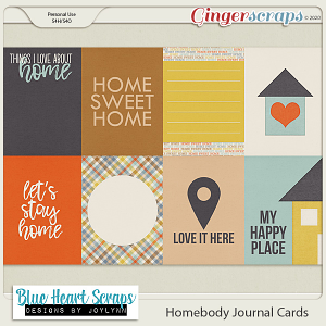 Homebody Journal Cards