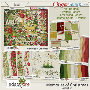 Memories of Christmas Collection by Lindsay Jane