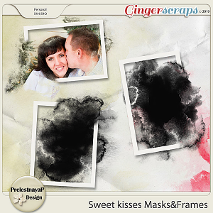 Sweet kisses Masks&Frames