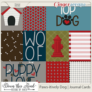 Paws-itively Dog | Journal Cards