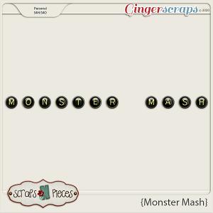 Monster Mash Alpha - Scraps N Pieces
