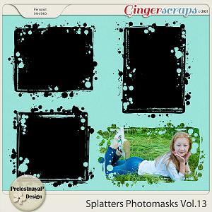 Splatters Photomasks Vol.13