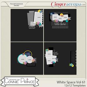 White Space Volume 61 - 12x12 Temps (CU Ok) by Connie Prince