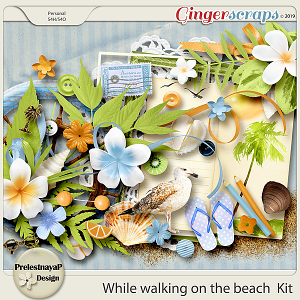 While walking on the beach Kit