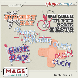 Doctor On Call WORD ART by MagsGraphics