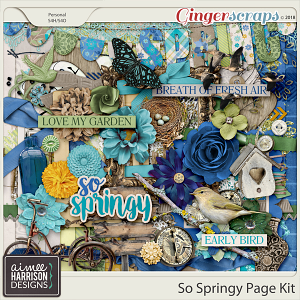 So Springy Page Kit by Aimee Harrison