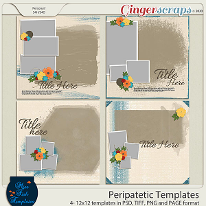 Peripatetic Templates by Miss Fish