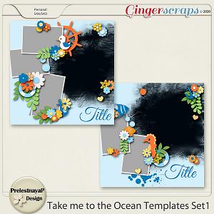 Take me to the Ocean Templates Set1