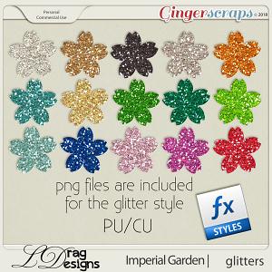 Imperial Garden: Glitterstyles by LDragDesigns