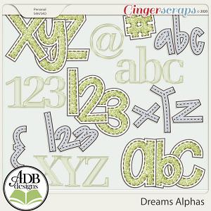 Dreams Alphas by ADB Designs