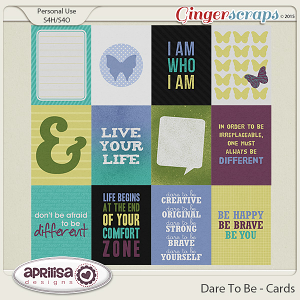 Dare To Be - Cards