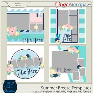 Summer Breeze Templates by Miss Fish