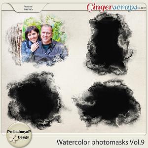 Watercolor photomasks Vol.9
