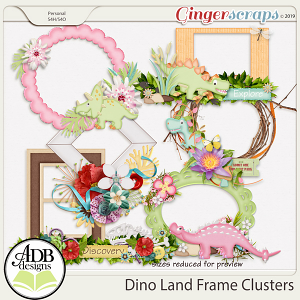 Dino Land Discovery Clusters by ADB Designs