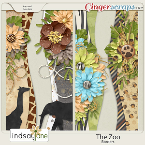The Zoo Borders by Lindsay Jane