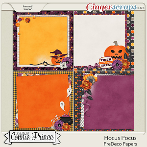 Hocus Pocus - PreDeco Papers