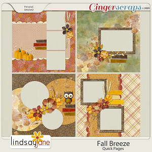 Fall Breeze Quick Pages by Lindsay Jane