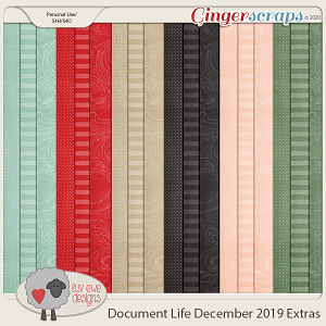 Document Life December 2019 Extra Papers by Luv Ewe Designs