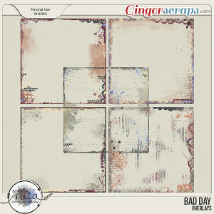 Bad Day - Overlays - by Neia Scraps