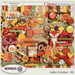Hello October - Kit