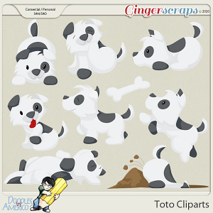 Doodles By Americo: Toto Cliparts