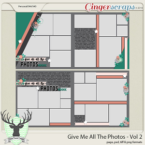 Give Me All The Photos - Vol 2