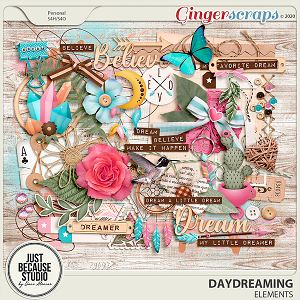 Daydreaming Elements by JB Studio