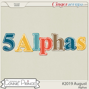 #2019 August - Alpha Pack AddOn by Connie Prince