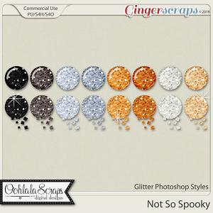 Not So Spooky Glitter CU Photoshop Styles