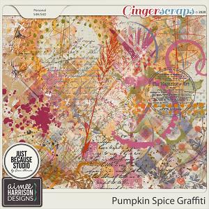Pumpkin Spice Graffiti by Aimee Harrison and JB Studio