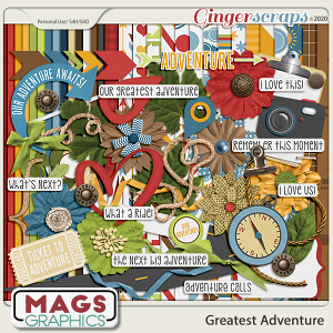 Greatest Adventure KIT by MagsGraphics