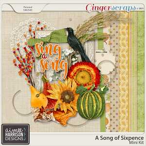 A Song of Sixpence Mini Kit by Aimee Harrison