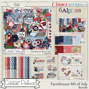 Farmhouse 4th of July - Bundle by Connie Prince