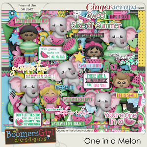 One in a Melon by BoomersGirl Designs